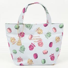 LADUREE Ladurée  Roses et macarons Tote Bag Gray S size