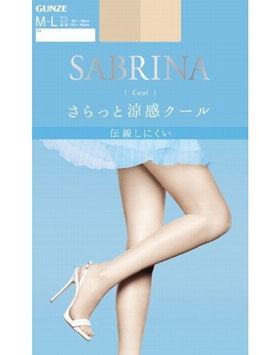 GUNZE SABRINA Pantyhose Stockings Cool