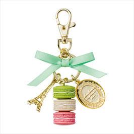 LADUREE Macaron Green Key Chain LDR-KH14-A