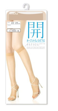 ATSUGI ASTIGU 開 Pantyhose Open Under the Knee