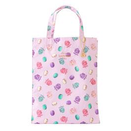 LADUREE Roses et macarons Tote Bag L size Pink