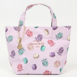 LADUREE Ladurée  Roses et macarons Tote Bag Pink S size