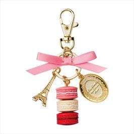 LADUREE Macaron Pink Key Chain LDR-KH14-B