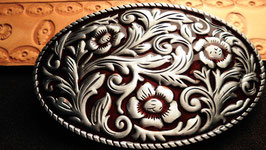Buckle Flower Red