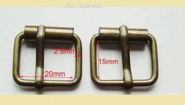 Metallschnalle - Taschenschnalle - kleine Gürtelschnalle
