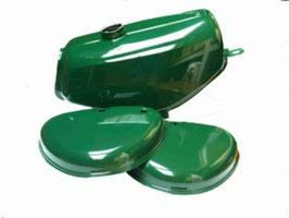 Set Tank + Seitendeckel grün
