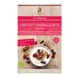 Dr. Budwig Linufit Energiemix Dattel-Hanf 350 g