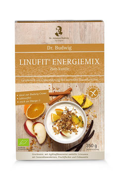 Dr. Budwig Linufit Energiemix Zimt-Vanille 350 g