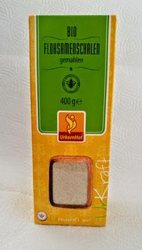 Flohsamenschalen (gemahlen) 400 g  Bio --Bild kann abweichen--