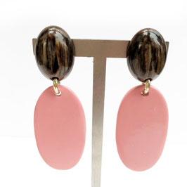 BerNice Oorbellen - Pink