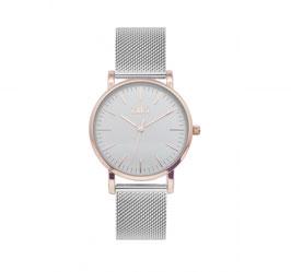 Ikki Horloge - Rosé/Zilver