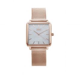 IKKI Horloge - TE08 Rosé/Parelmoer