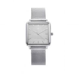 IKKI Horloge - TE07 Zilver/Parelmoer