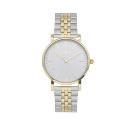 Ikki Horloge - JM22 Goud/Zilver