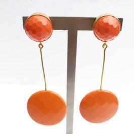 BerNice Oorbellen - Orange