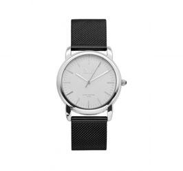 IKKI Horloge - IE01 Zwart/Zilver