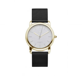 IKKI Horloge - IE03 Zwart/Goud