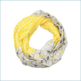 Gelb gemusterter Loop