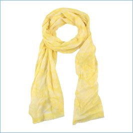 Gelber Schal mit Paisleymuster