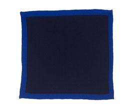 Strick Einstecktuch königsblau