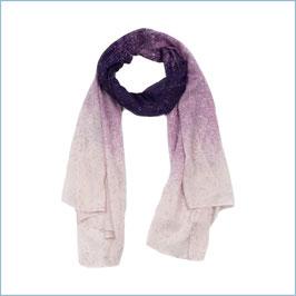 Rosafarbener Schal gesprenkelt