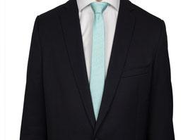 Krawatte türkis karriert