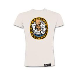 """HerrenShirt """"Fight Club"""" (vintage white)"""