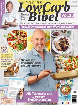 Rosins Low Carb-Bibel Vol. 10 Ohne Stress zum Wunschgewicht