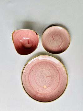 Churchill Stonecast Geschirr Petal Pink mit Autogramm