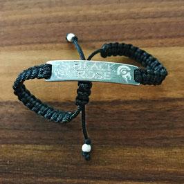 """Armband """"Black Rose"""" für Damen, handgefertigt"""