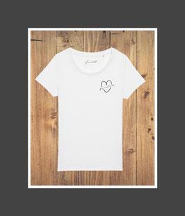 Gin und Liebe ♥ Shirt white