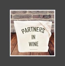 "Canvas Tragetasche ""Partners in Wine"""