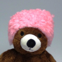 "bonnet ""pink fluffy"""