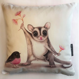 Sugarglider White Cotton Cushion