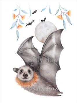 Flying Fox Moon Print