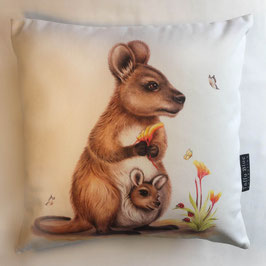 Mum and Joey Cushion