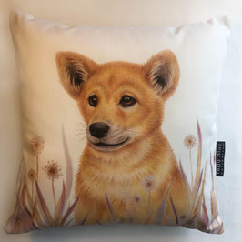 Dingo Pup Cotton Cushion
