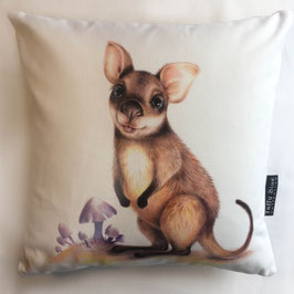 Cute Wallaby Cotton Cushion
