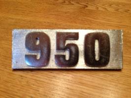Anagrama Metalico 950*****
