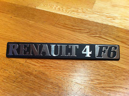 Anagrama Renault 4 F6(7*)