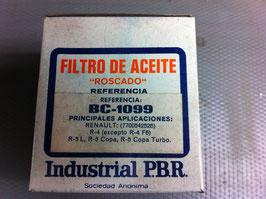 Filtro Aceite PBR BC-1099 Renault 4 y Renault 5