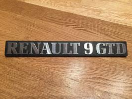 Anagrama Renault 9 GTD*****