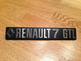 Anagrama Renault 7 GTL*****