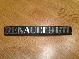 Anagrama Renault 9 GTL*****
