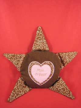 Bouillotte rose chocolat