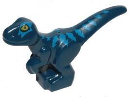 Baby dino donker blauw