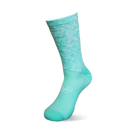 Crazy Planet Socks Mint/White