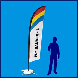 Fly Banner Pluma o Surf - L