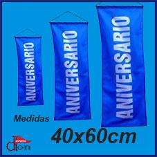 Banner Colgante 40x60cm