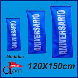 Banner Colgante 120x150cm